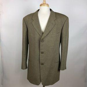 Giorgio Armani Vintage Silk Blend Blazer Jacket